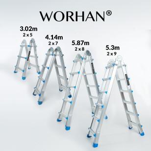 Multipurpose Telescopic Ladders
